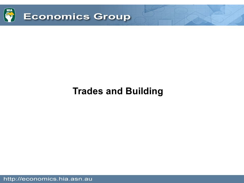Trades and Building