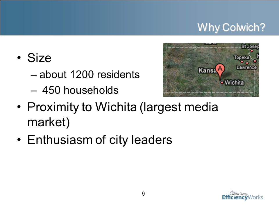 9 Why Colwich.