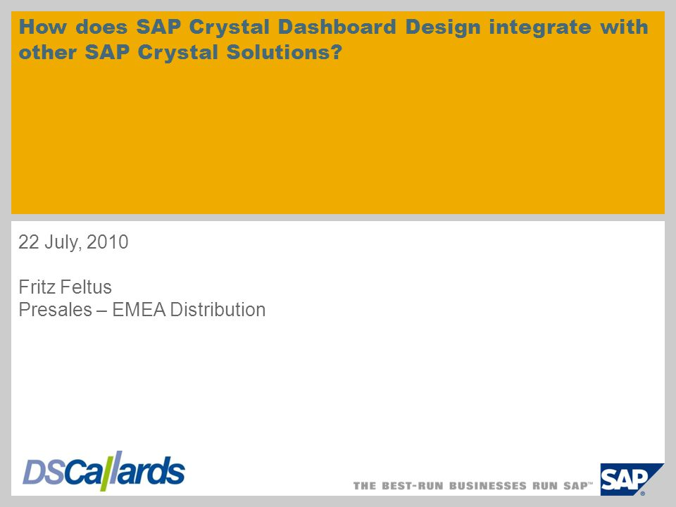 How does SAP Crystal Dashboard Design integrate with other SAP Crystal Solutions.