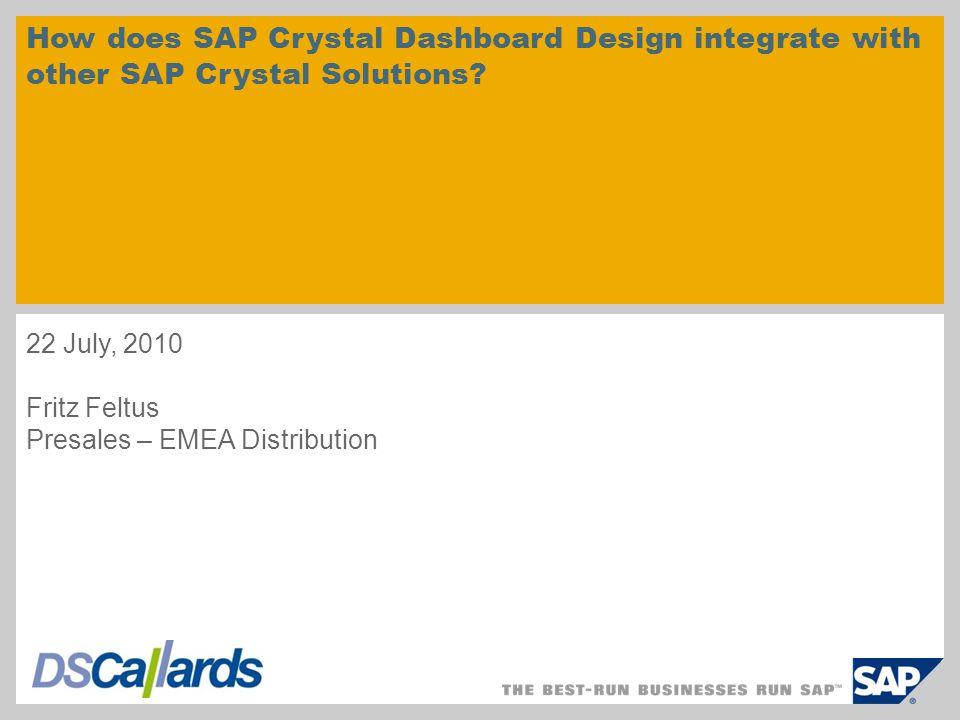 SAP Dashboard Builder integration DEMO