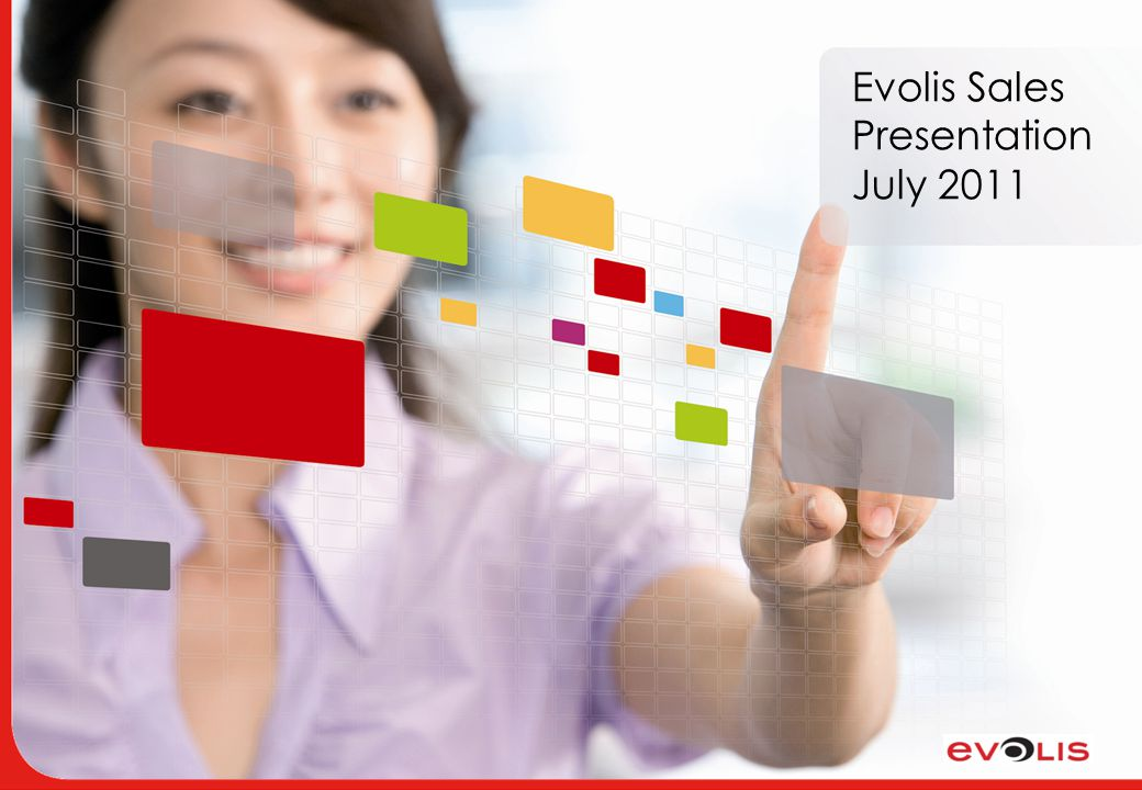 Evolis Sales Presentation July 2011