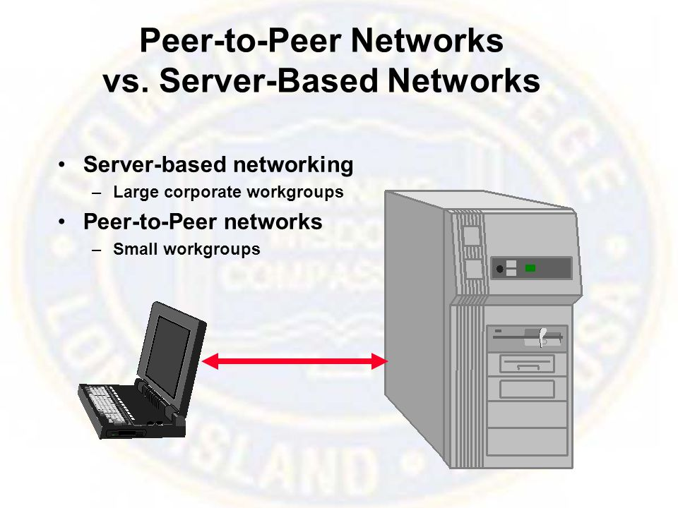 Peer-to-Peer Networks vs.