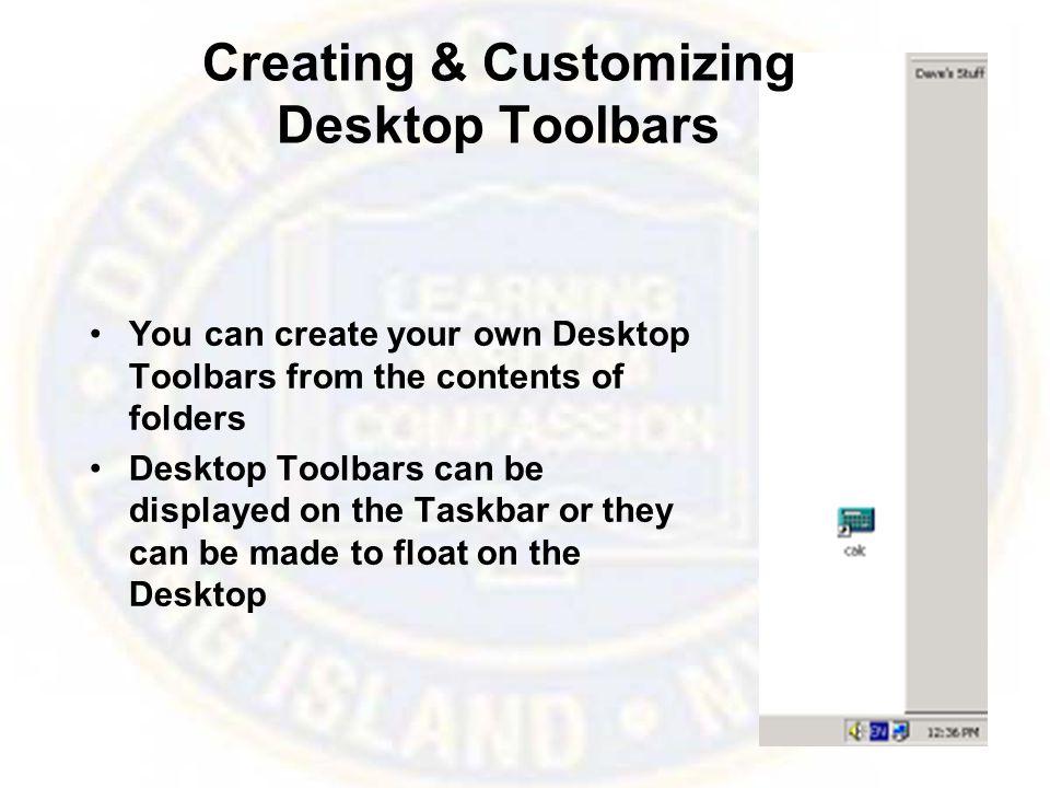 Customizing the Mouse & Keyboard –Mouse configuration –Keyboard configuration
