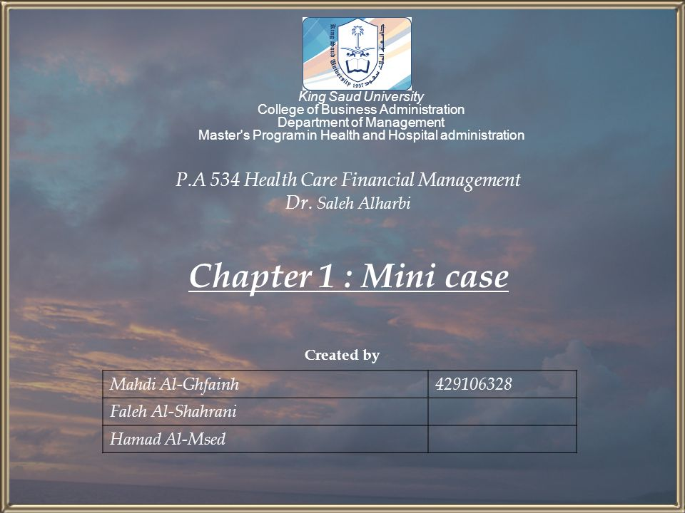 Mini case Assume that you recently graduated with a degree in finance and have just reported to work as an investment advisor at the brokerage firm of Balik and Kiefer Inc.