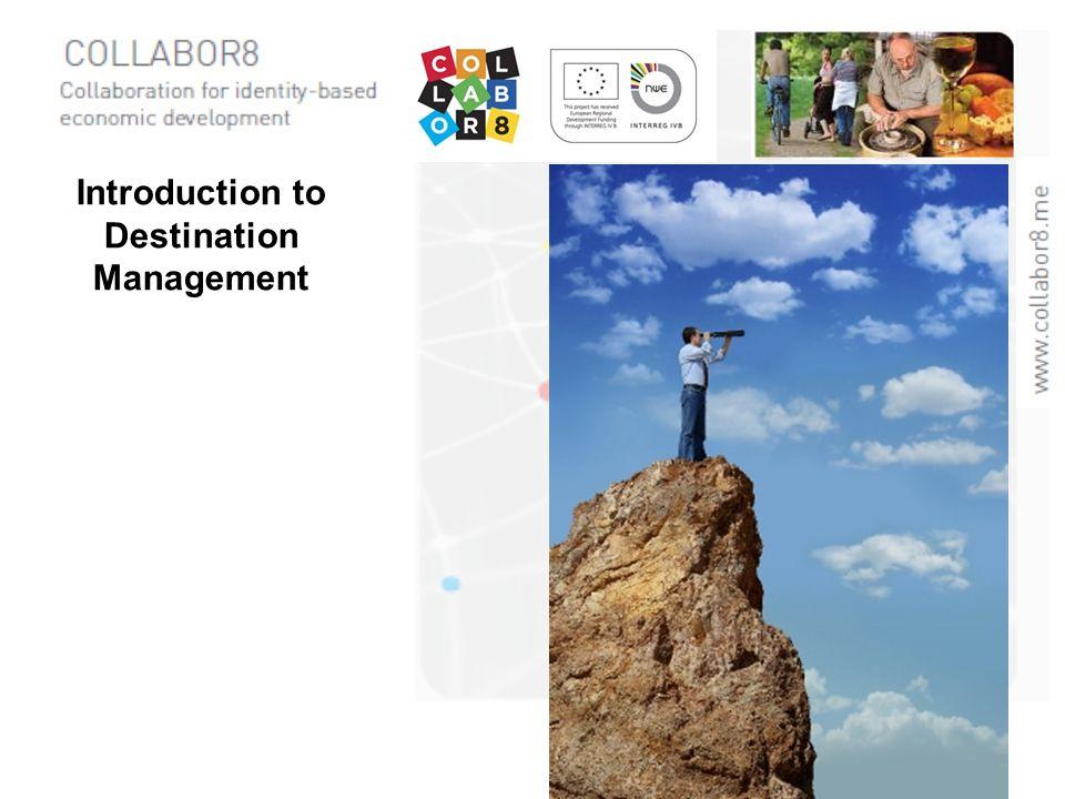 Introduction to Destination Management