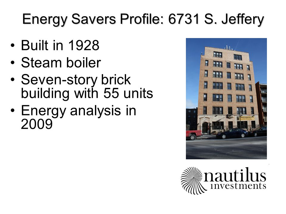 Energy Savers Profile: 6731 S.