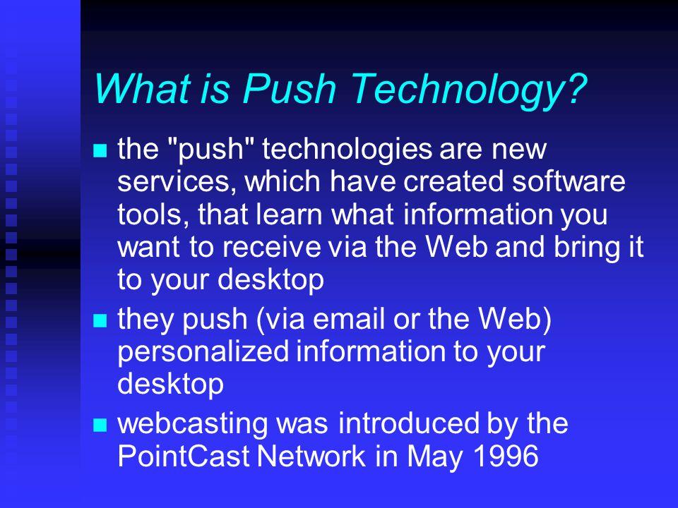 Who Uses Webcasting? n religious organizations n newspapers n businesses n universities