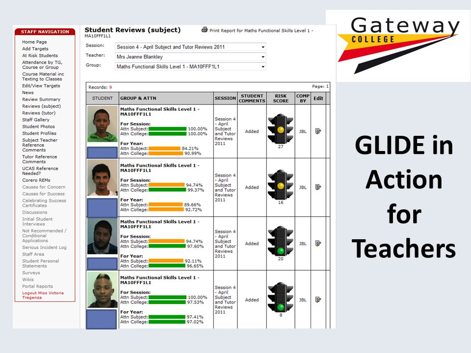 GLIDE in Action for Teachers