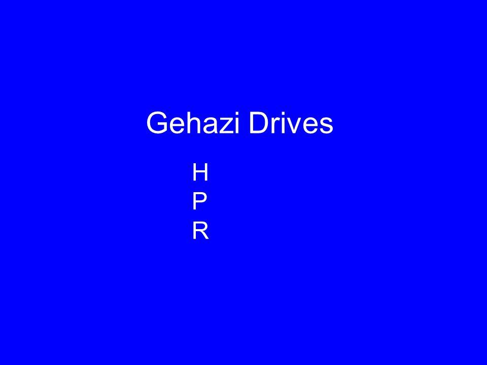 Gehazi Drives HPRHPR