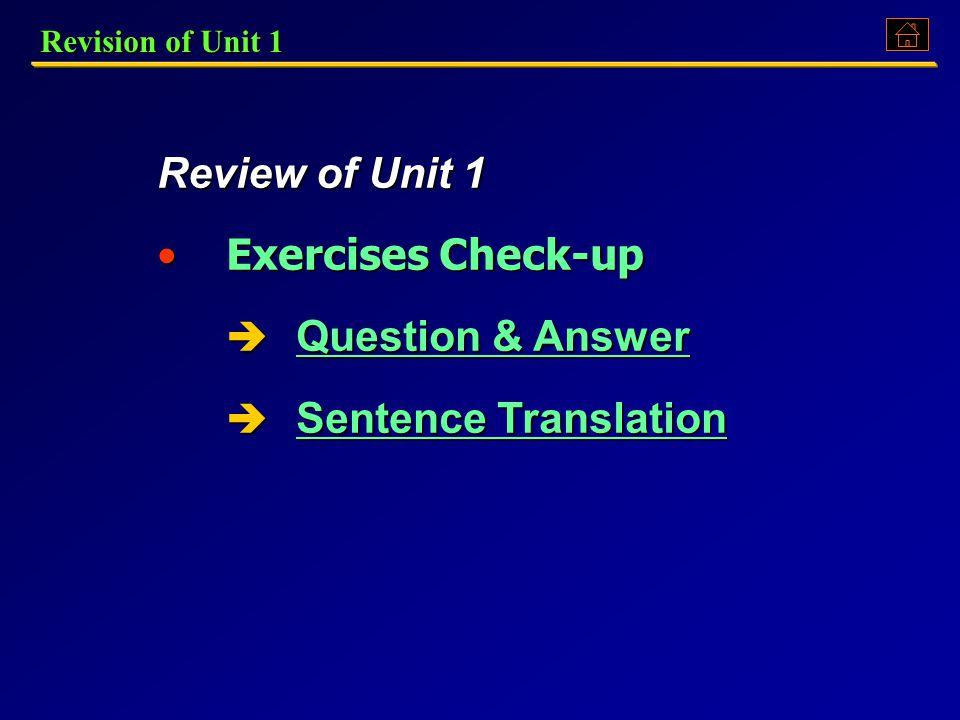 Unit 2: Revision of Unit 1Revision of Unit 1Revision of Unit 1Revision of Unit 1 Overview of Unit 2Overview of Unit 2Overview of Unit 2Overview of Uni