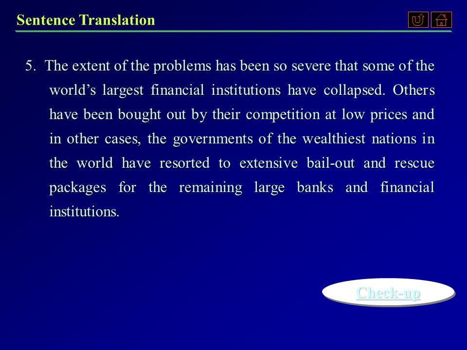 Sentence Translation 3.