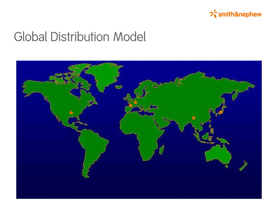 Global Distribution Model