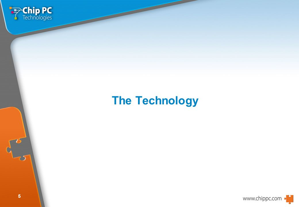5 The Technology