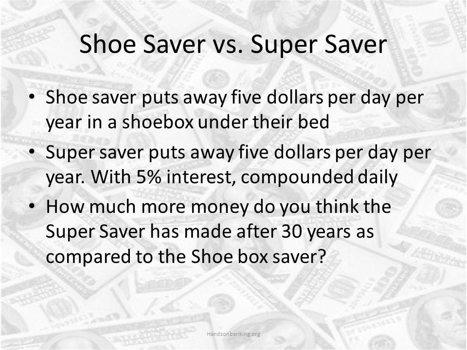 Shoe Saver vs.