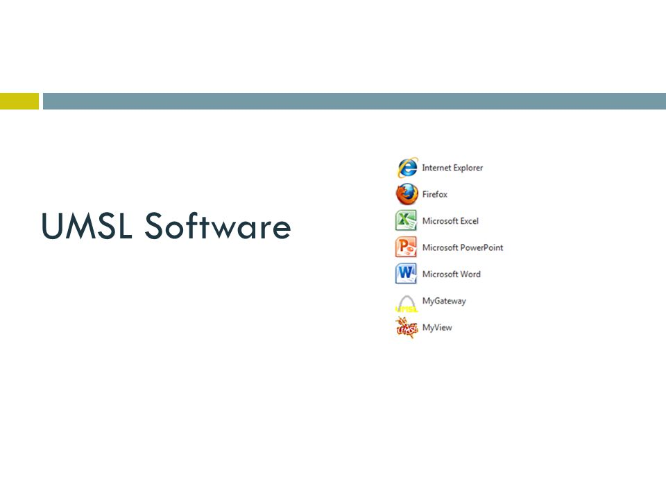 UMSL Software