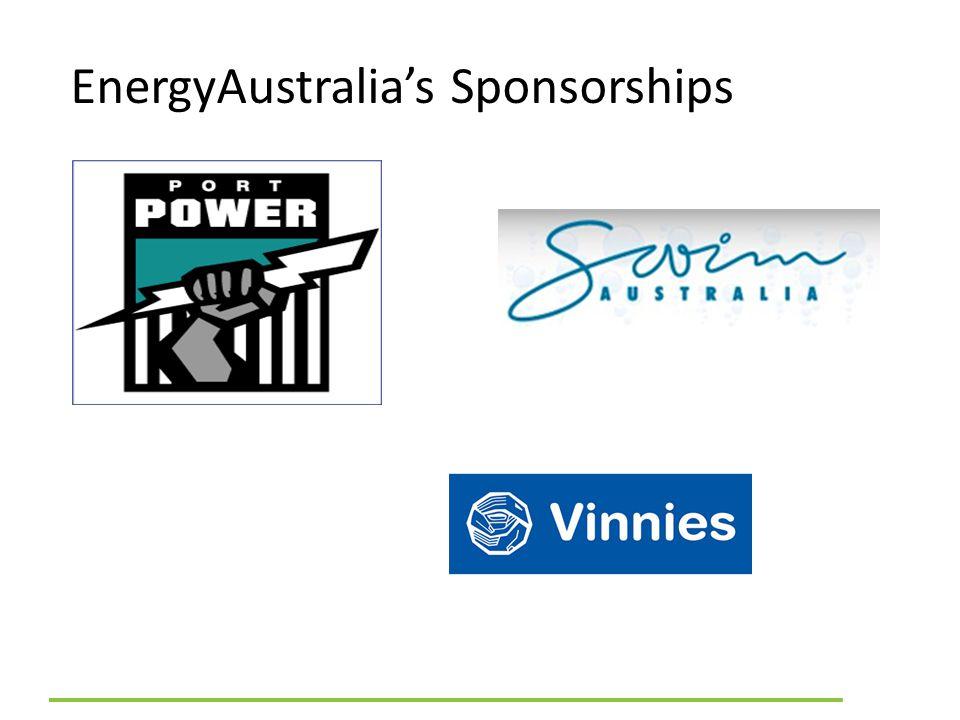 EnergyAustralia's Sponsorships