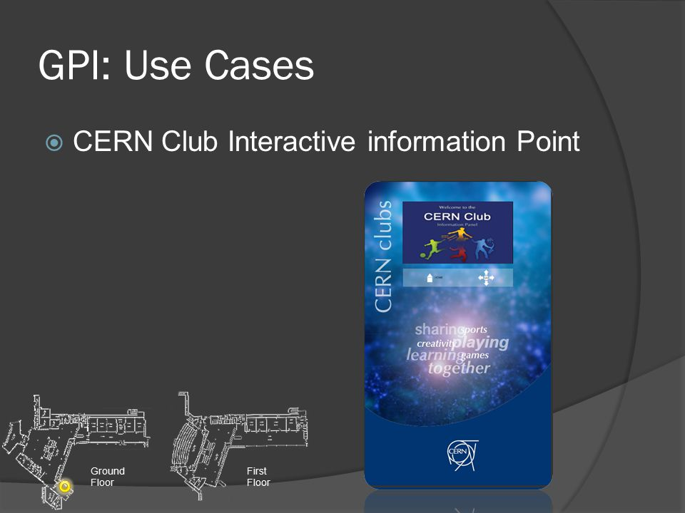 GPI: Use Cases  General Information Screens