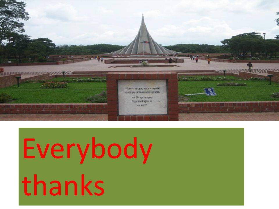 Everybody thanks