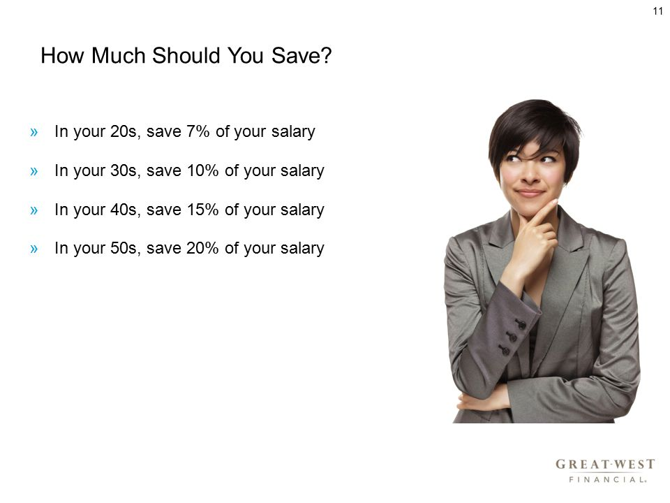 How Much Should You Save.
