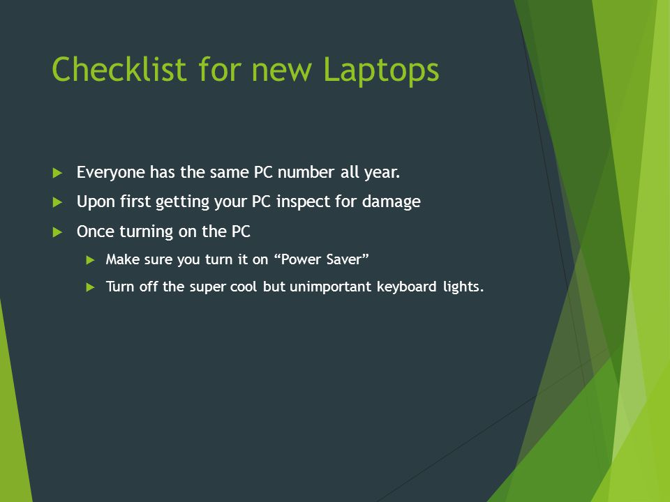 October 8 th, 2014 Entry Task  Two Parts:  First, describe our old laptops that this school has used.