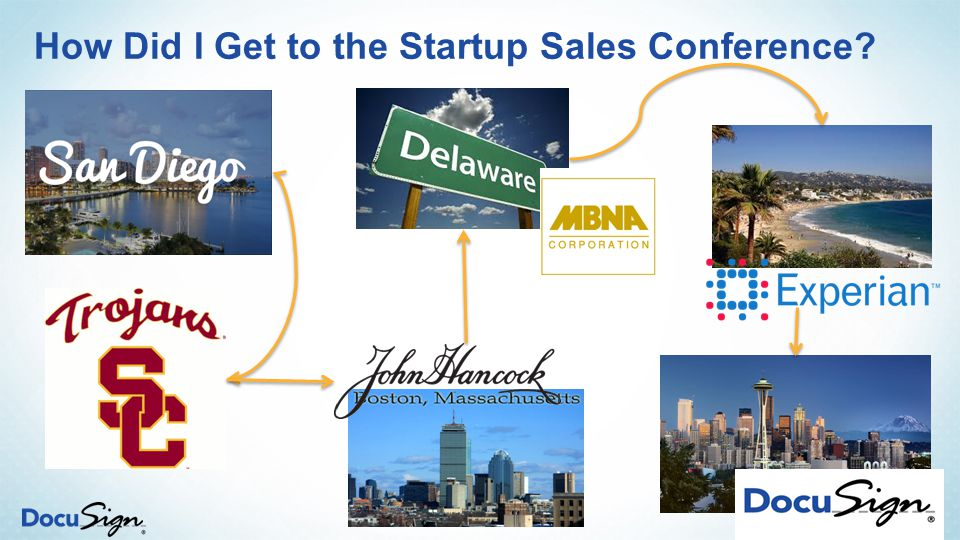 How Did I Get to the Startup Sales Conference? 3