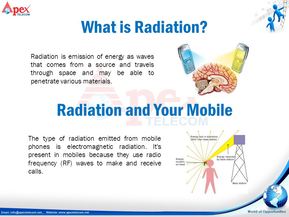 What is Radiation? Radiation is emission of energy as waves that comes from a source and travels through space and may be able to penetrate various ma