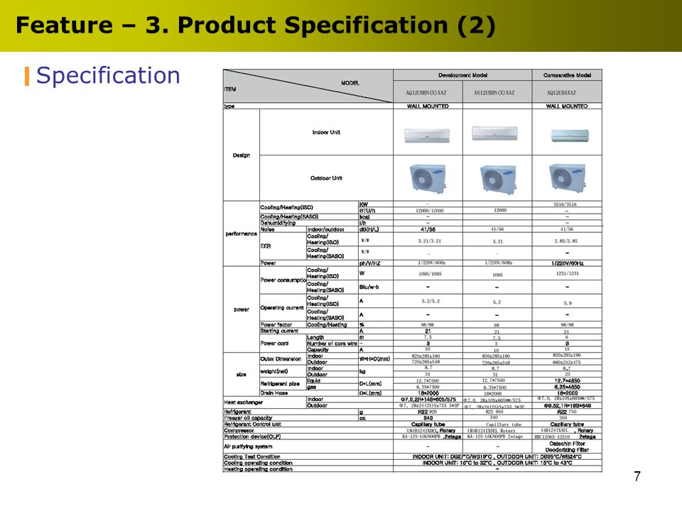 8 Feature – 5. Product Specification (3)