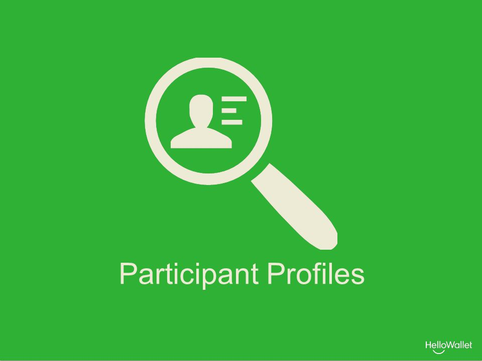 Participant Profiles
