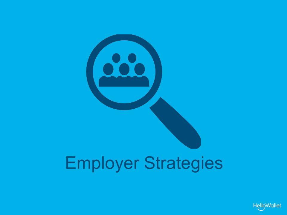 Employer Strategies