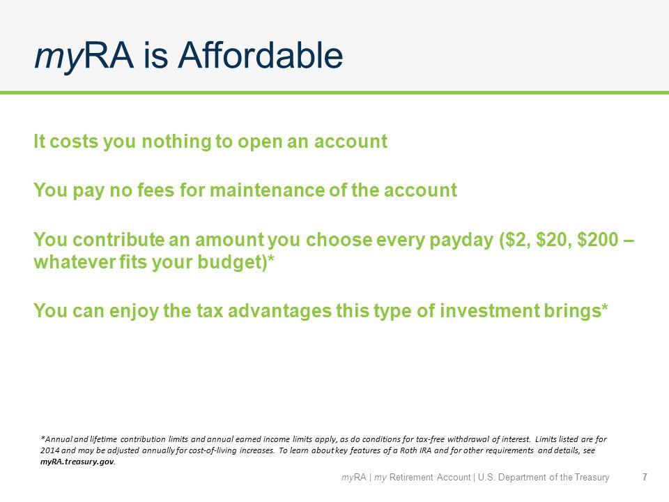 Is myRA right for me? 8myRA   my Retirement Account   U.S. Department of the Treasury
