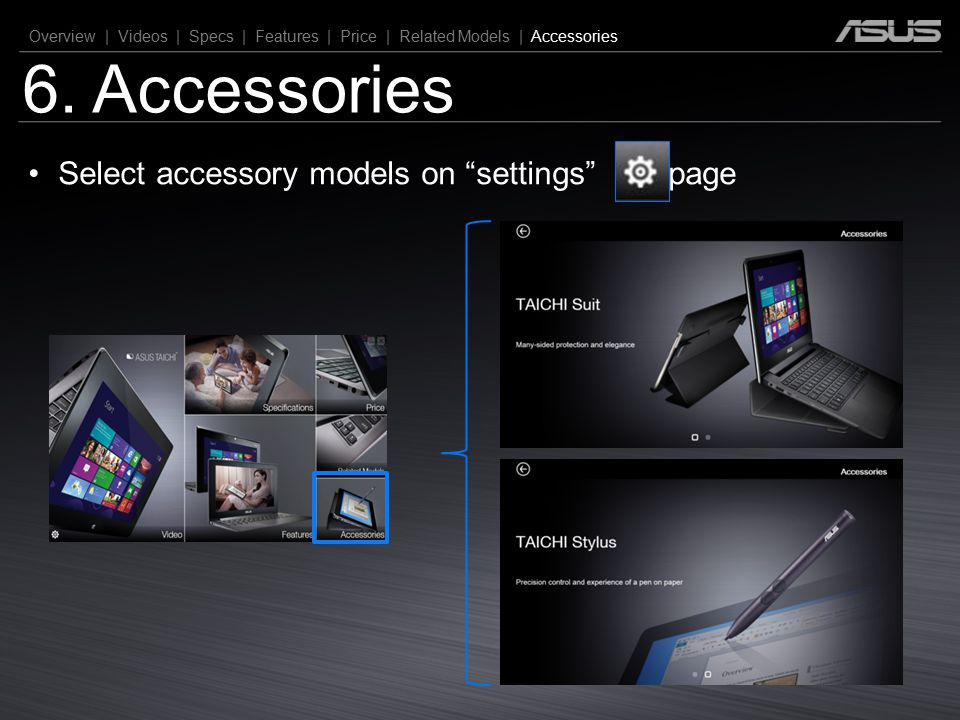 """6. Accessories Overview 