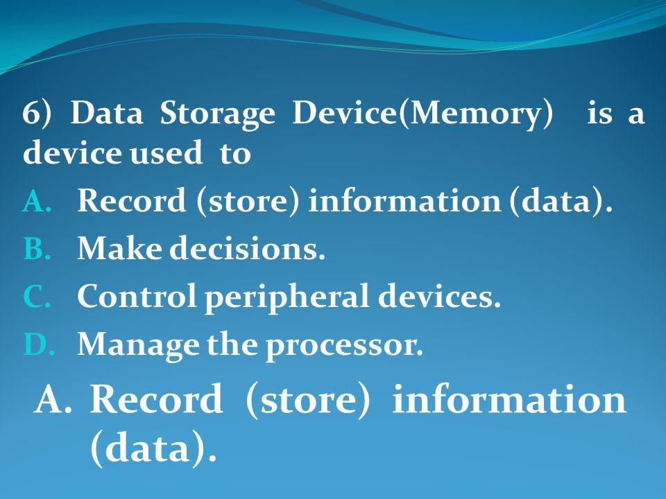 17) Mini Computers simultaneously handles the needs of multiple users. A. True B. False True