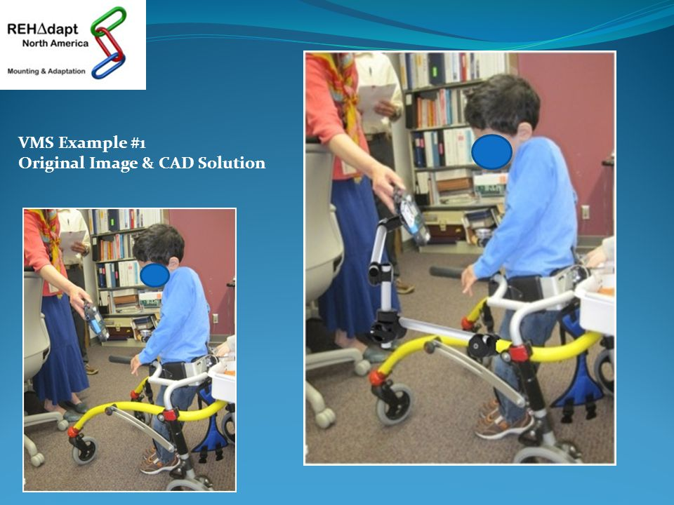 VMS Example #1 Original Image & CAD Solution
