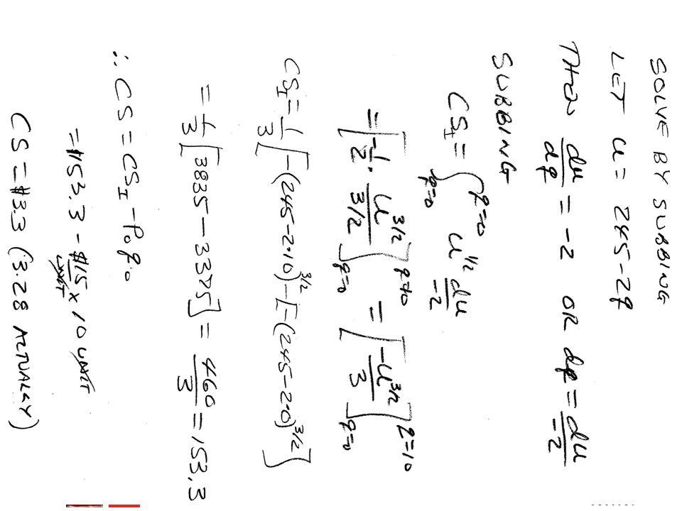 BMayer@ChabotCollege.edu MTH15_Lec-26_sec_5-5_Integral_Apps_Biz-n-Econ.pptx 41 Bruce Mayer, PE Chabot College Mathematics