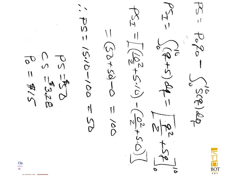 BMayer@ChabotCollege.edu MTH15_Lec-26_sec_5-5_Integral_Apps_Biz-n-Econ.pptx 42 Bruce Mayer, PE Chabot College Mathematics