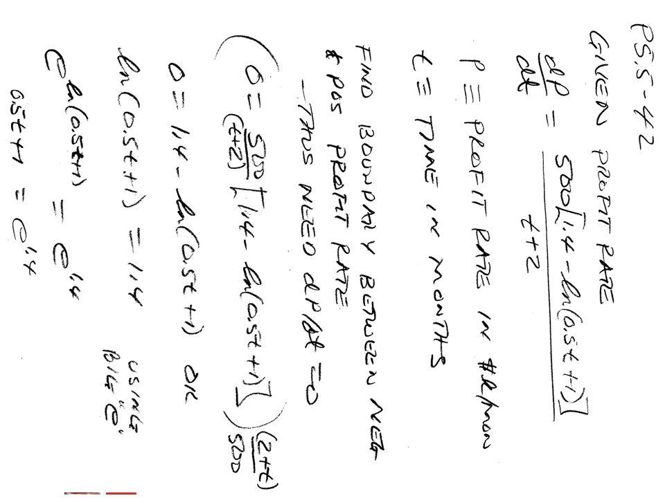 BMayer@ChabotCollege.edu MTH15_Lec-26_sec_5-5_Integral_Apps_Biz-n-Econ.pptx 45 Bruce Mayer, PE Chabot College Mathematics