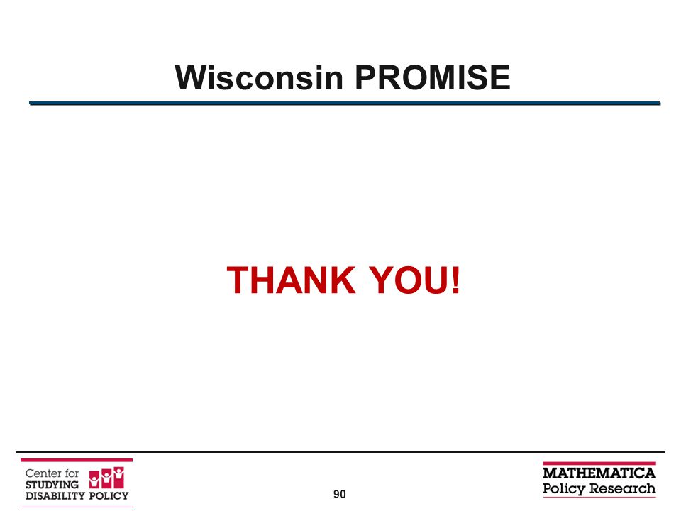 Wisconsin PROMISE THANK YOU! 90