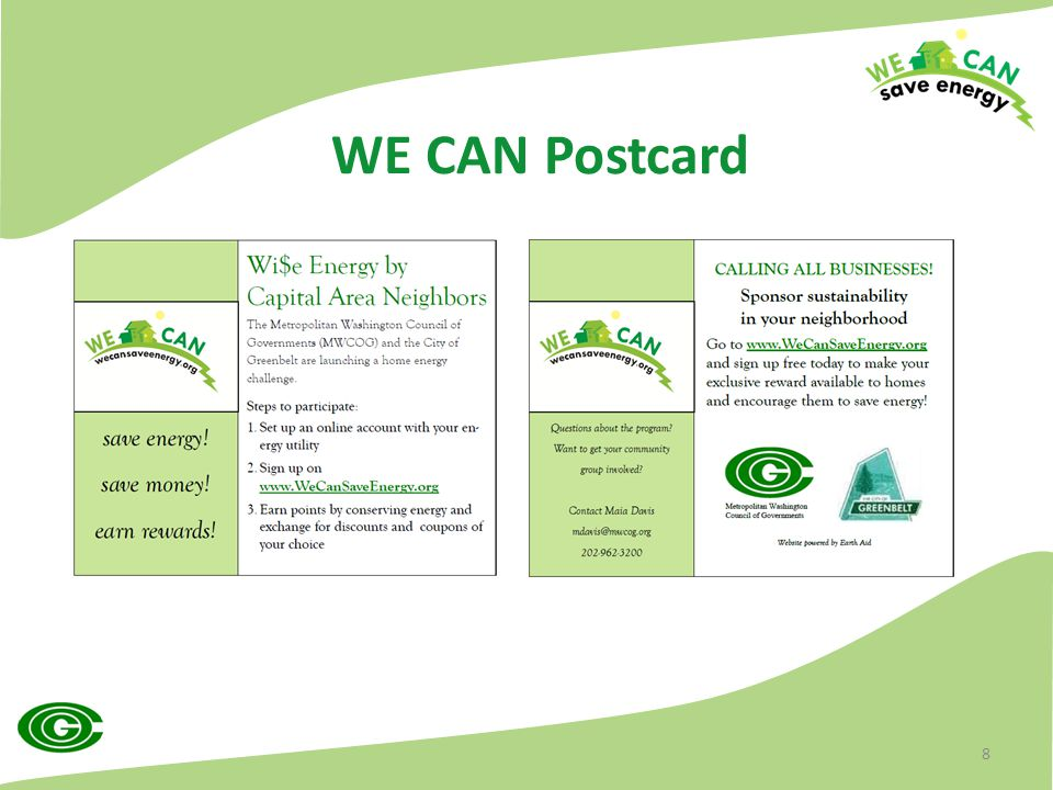 WE CAN Postcard 8