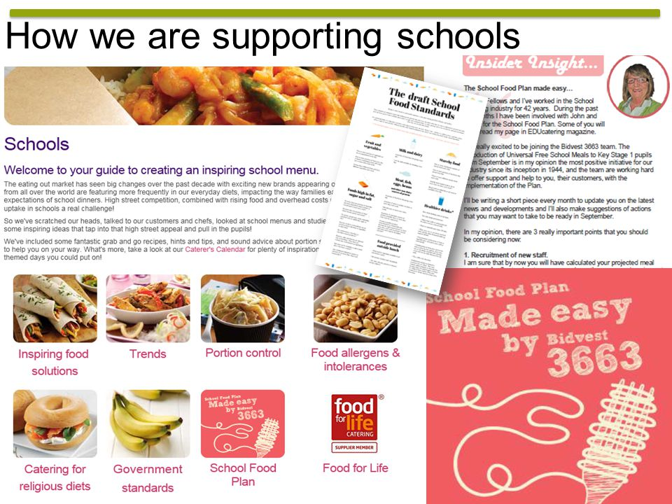 How we are supporting schools