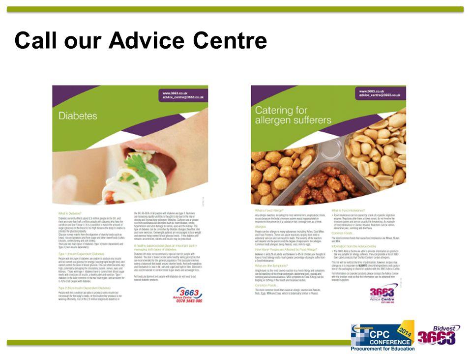 Call our Advice Centre