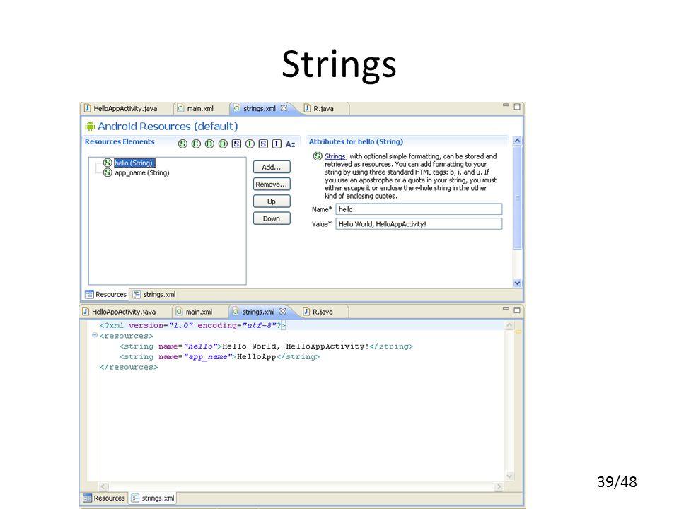 39/48 Strings
