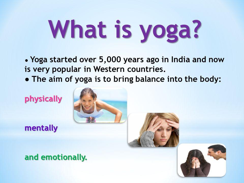 Benefits of yoga 1.Better sleep 2. Improves your posture 3.