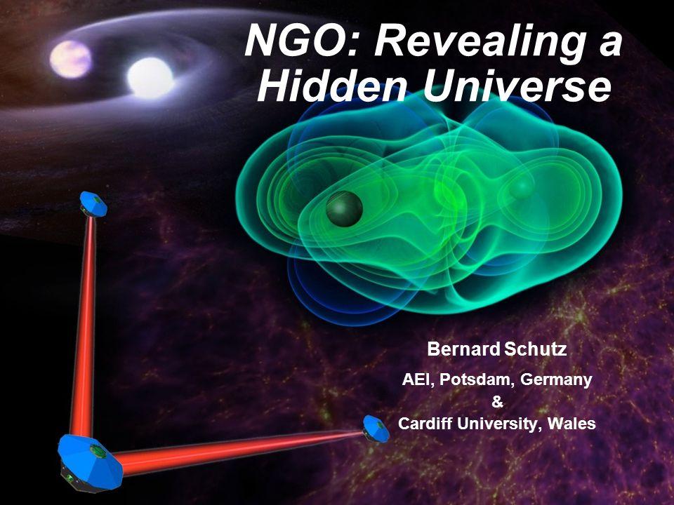 NGO: Revealing a Hidden Universe Bernard Schutz AEI, Potsdam, Germany & Cardiff University, Wales
