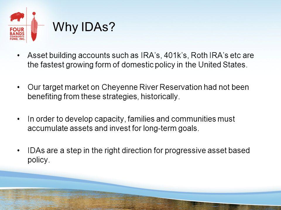 Why IDAs.