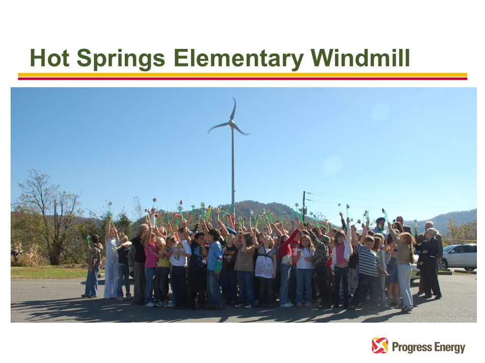 Hot Springs Elementary Windmill