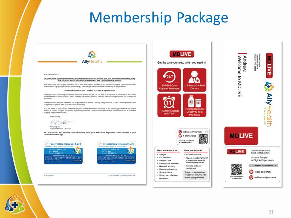 Membership Package 21