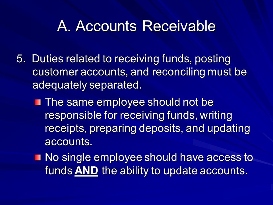 A.Accounts Receivable 5.