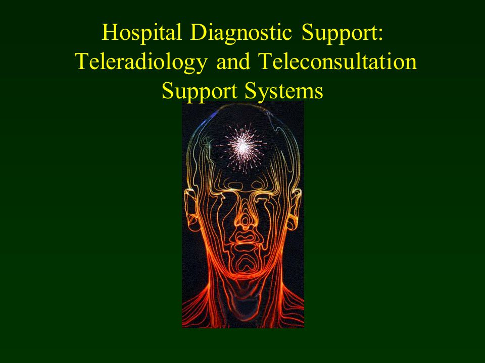 Hospital Diagnostic Support: Teleradiology and Teleconsultation Support Systems
