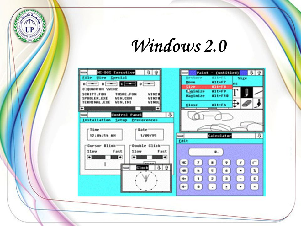 Windows 3.0 Was produced in May 1990.- -Interface elements in three dimensional.
