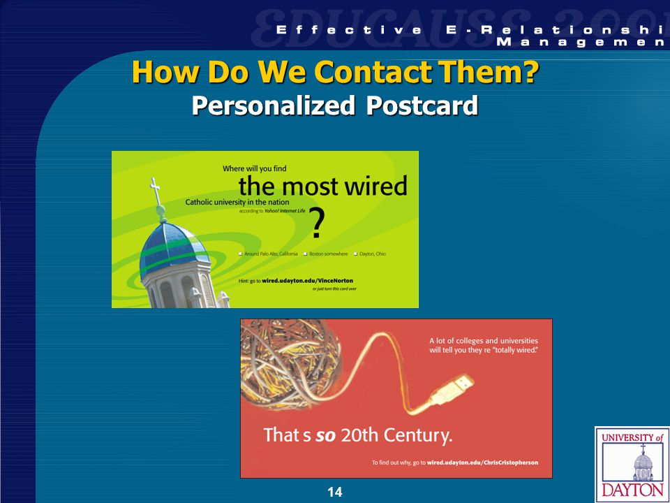 14 How Do We Contact Them Personalized Postcard